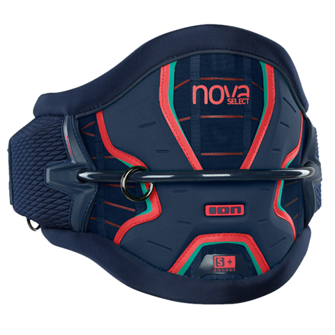 Ion-Nova-Select-Kite-Harness-2018-NavyBlue-BrightRed