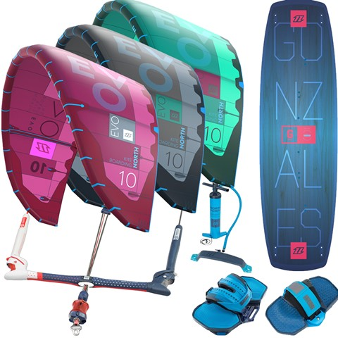 North-Evo-Gonzales-2018-kitesurfing-package