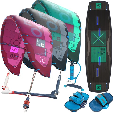 North-Evo-X-ride-2018-kitesurfing-package