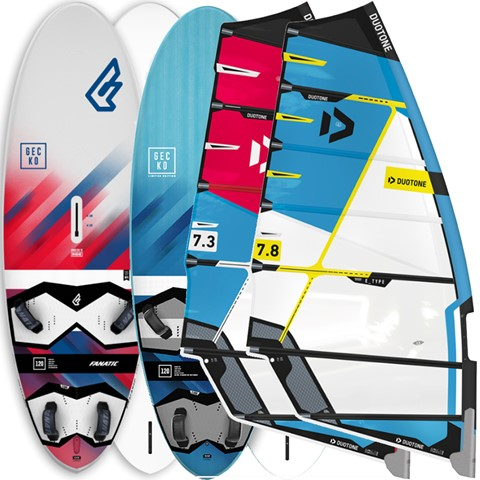 Windsurf Packages, Fanatic North windsurf packages, | H2O Sports