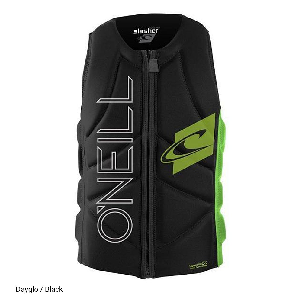 ONeill-Slasher-Kite Vest_Dayglo-Black