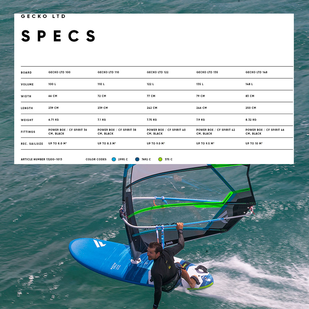 Fanatic-Gecko-LTD-windsurf-board-2020-Spec