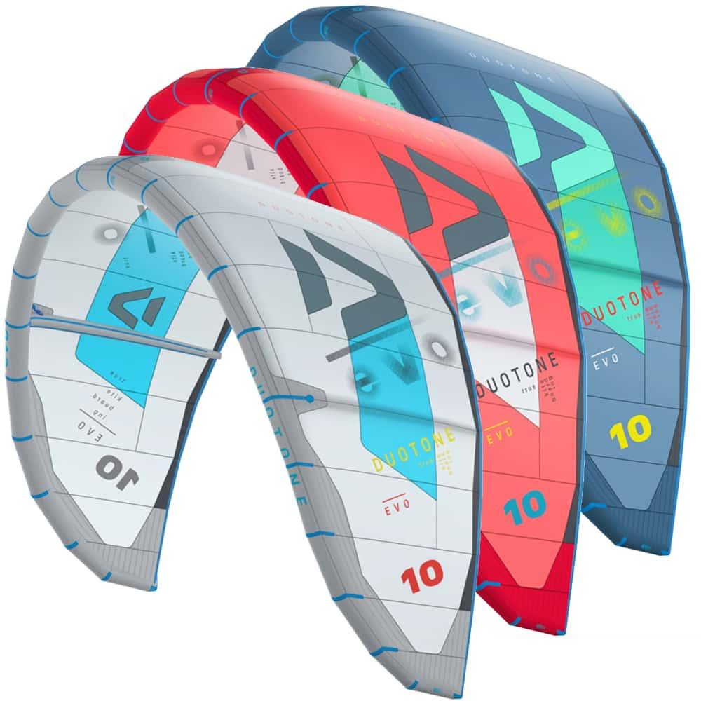 Duotone Evo Kitesurfing Kite 2020 | H20 Sports Ltd | H2O Sports