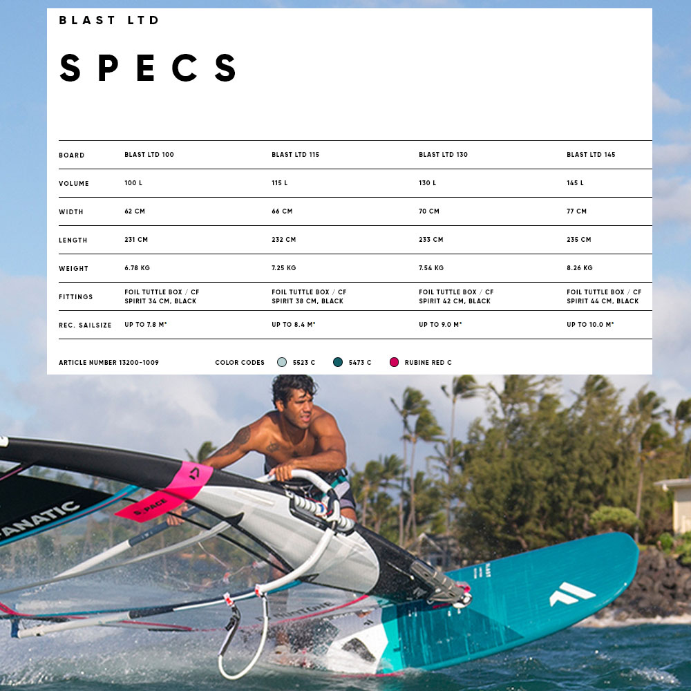 Fanatic-BLAST-LTD-windsurf-board-2020-Spec1