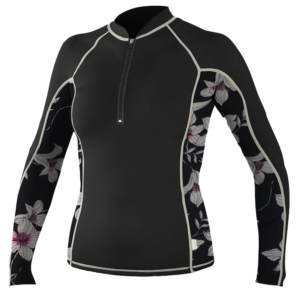 Oneill-FZ-LS-Rash-Guard-Blk
